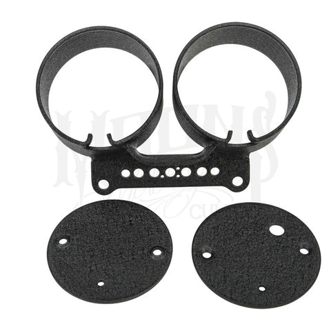 MOONSMC Dual Gauge Mount Bracket Kit, Parts, MOONSMC, MOONSMC® // Moons Motorcycle Culture
