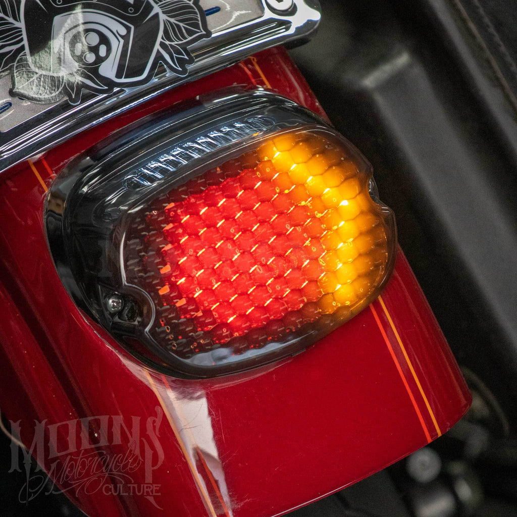 MOONSMC® FXR Low Profile LED Tail light, Lighting, MOONS, MOONSMC® // Moons Motorcycle Culture
