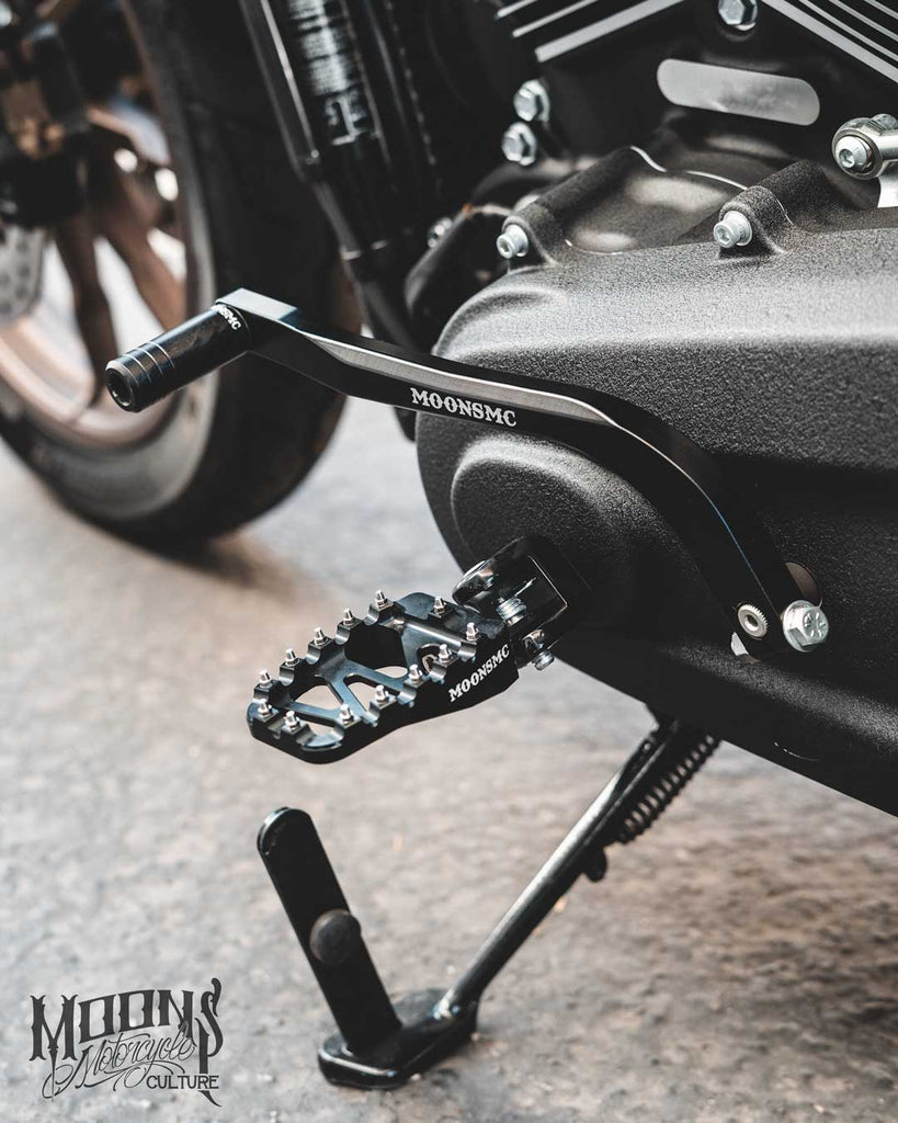 MOONSMC® M8 SOFTAIL SHIFTER PEDAL ARM