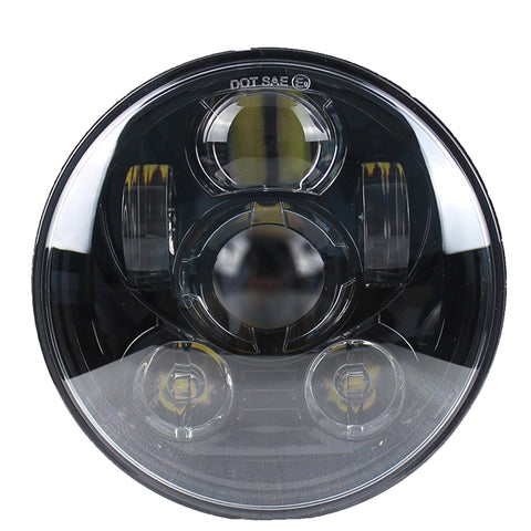 5.75 MOONSMC® Moonmaker 2 LED Headlight For Harley, Lighting, MOONS, MOONSMC® // Moons Motorcycle Culture