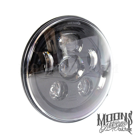 "7"" MOONSMC® Moonmaker 2 LED Headlight, Lighting, MOONS, MOONSMC® // Moons Motorcycle Culture"