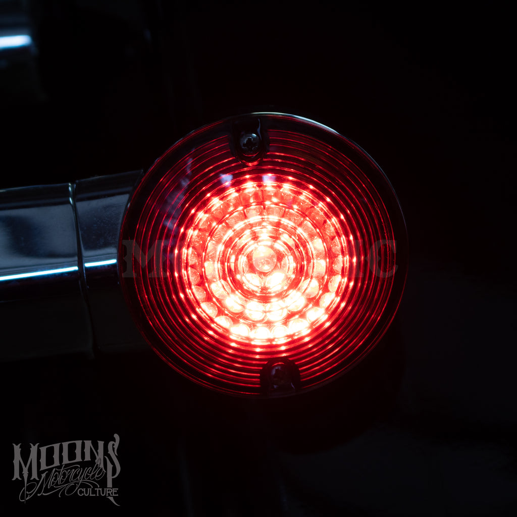 MOONSMC® MOONPODS Flat Style LED Turn Signals, Lighting, MOONS, MOONSMC // Moons Motorcycle Culture