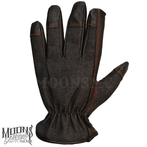 MOONSMC® Red Rider Gloves, Gloves, MOONS, MOONSMC // Moons Motorcycle Culture