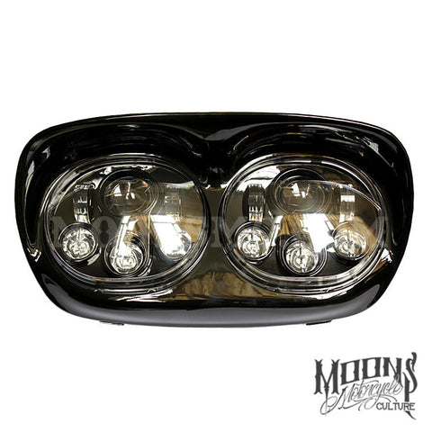 MOONSMC® Road Glide LED Moonmaker Headlight, Lighting, MOONS, MOONSMC // Moons Motorcycle Culture