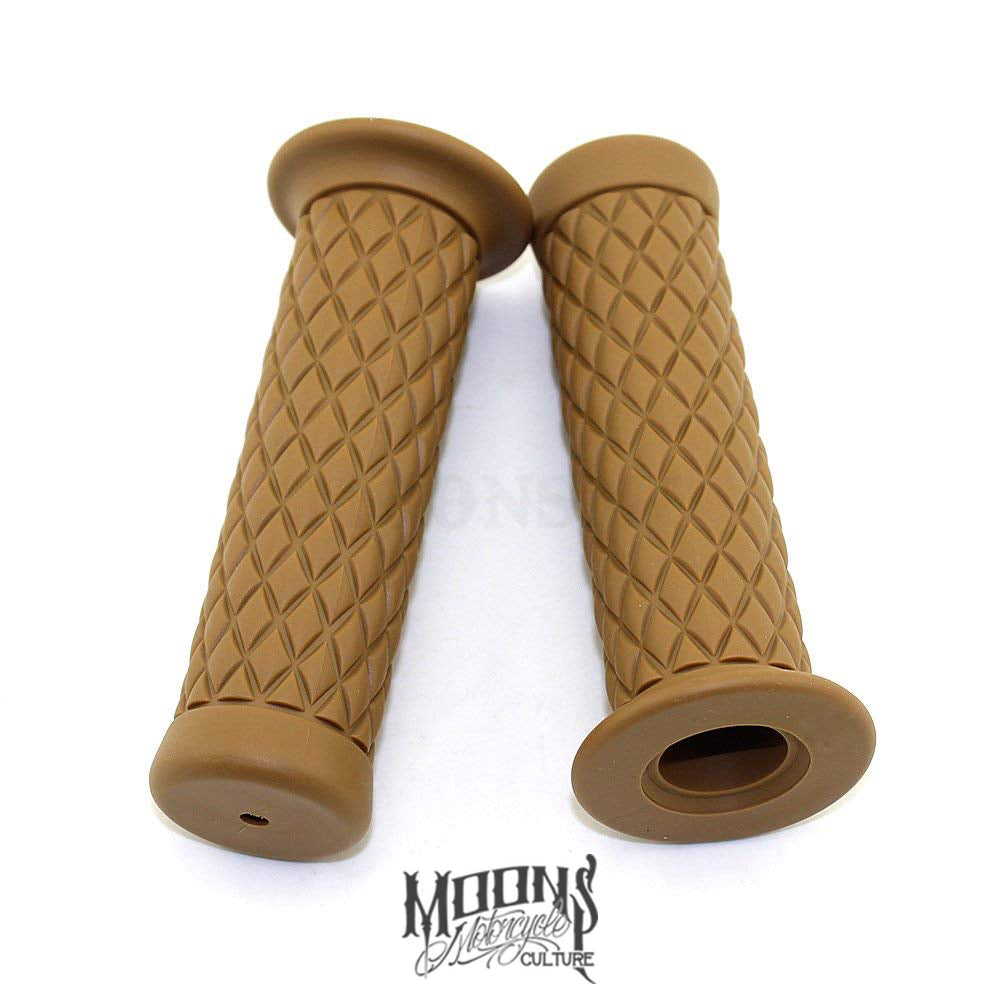 MOONSMC® Diamond Ripper Grips, Hand / Foot Components, MOONS, MOONSMC // Moons Motorcycle Culture