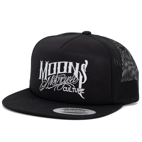 MOONSMC® OG Logo Foam Trucker Hat, Apparel, MOONS, MOONSMC® // Moons Motorcycle Culture