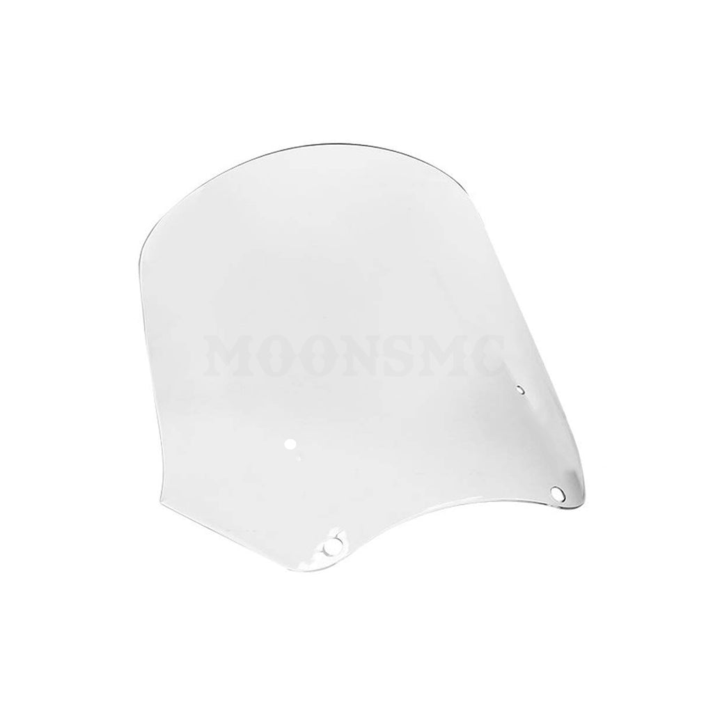 MOONSMC® 15 inch FXDXT T-Sport Windshield with Recurve, Parts, MOONS, MOONSMC // Moons Motorcycle Culture