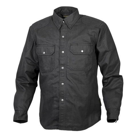 Scorpion Covert Kevlar Waxed Riding Shirt, Apparel, Scorpion, MOONSMC® // Moons Motorcycle Culture