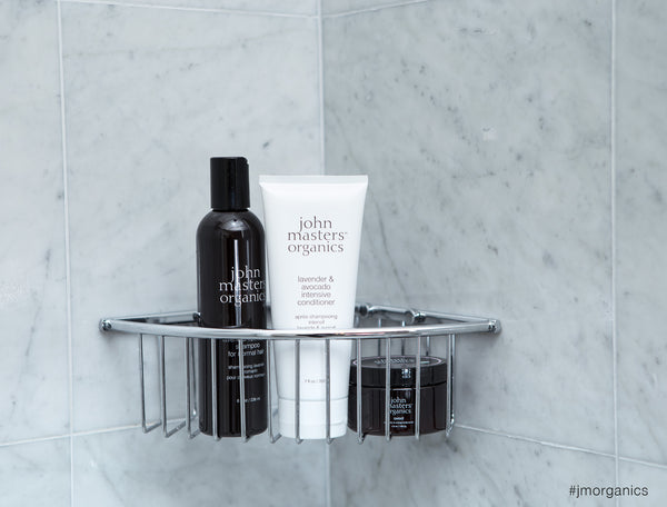 Soothing Trio of John Masters Organics Shower Essentials