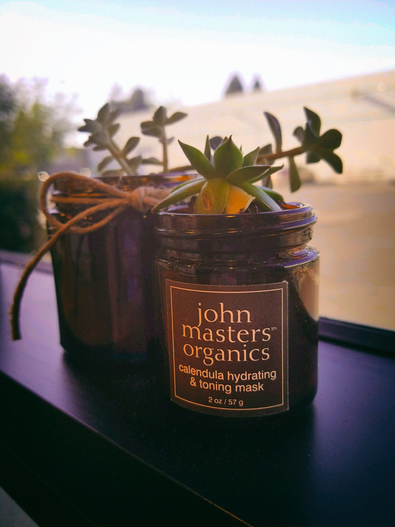 Reuse of John Masters Organics glass jars