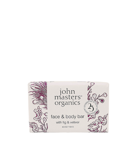 Face & Body Bar with Fig & Vetiver