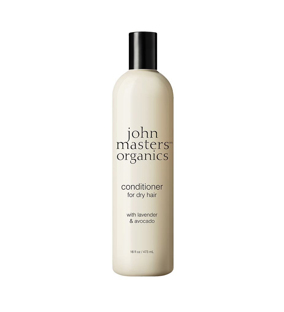 conditioner for dry hair with lavender avocado john masters organics