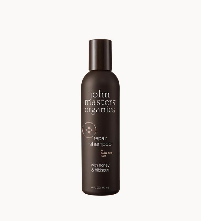 Repair Shampoo for Damaged Hair with Honey & Hibiscus - John Masters Organics