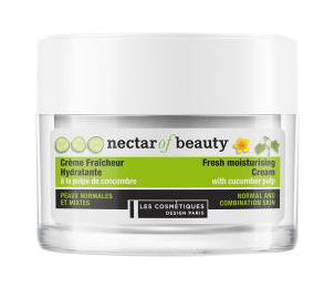 Cucumber Face Cream · Crème à la pulpe de concombre (50 mL)