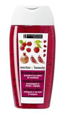 Pomegranate & Raspberry Shower Gel · Gel douche à la grenade et aux pépins de framboises (250 mL)