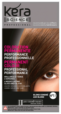 Permanent Hair Dye · Coloration permanente