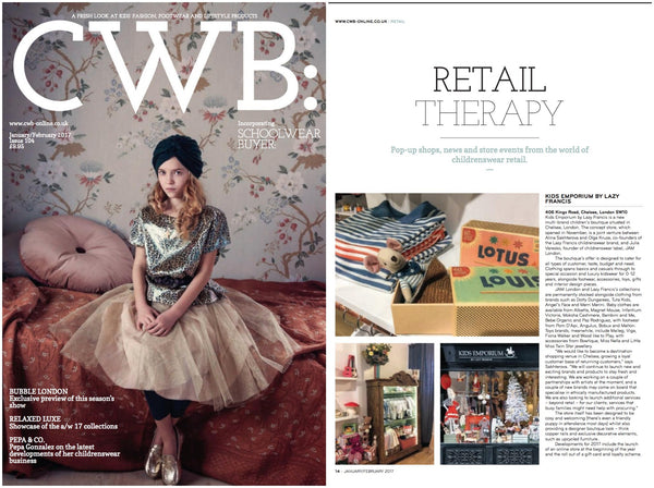 Retail Therapy | CWB Magazine January/February
