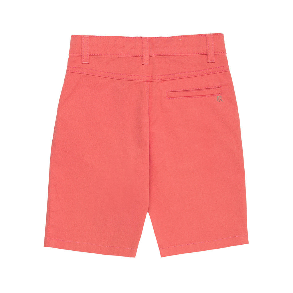 Coral Boys Shorts SHORTS Tuta - Firstline at Kids Emporium by Lazy Francis - Shop in store at 406 Kings Road, Chelsea, London or shop online at www.kidsemporiumonline.com