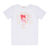 Ecru Boys T-shirt T-SHIRT Tuta - Firstline at Kids Emporium by Lazy Francis - Shop in store at 406 Kings Road, Chelsea, London or shop online at www.kidsemporiumonline.com