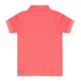 Coral Polo Boys T-shirt POLO T-SHIRT Tuta - Firstline at Kids Emporium by Lazy Francis - Shop in store at 406 Kings Road, Chelsea, London or shop online at www.kidsemporiumonline.com