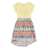 Light Yellow Girls Dress DRESS Tyess at Kids Emporium by Lazy Francis - Shop in store at 406 Kings Road, Chelsea, London or shop online at www.kidsemporiumonline.com