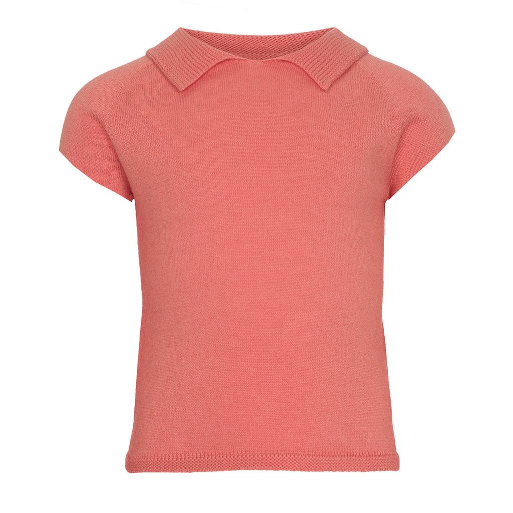 Coral Alex Girls T Shirt Girls Top JAM London at Kids Emporium by Lazy Francis - Shop in store at 406 Kings Road, Chelsea, London or shop online at www.kidsemporiumonline.com
