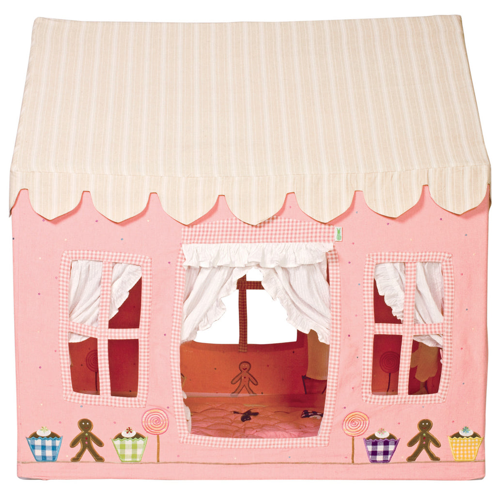 Gingerbread Cottage Playhouse - Win Green Toys Win Green at Kids Emporium by Lazy Francis - Shop in store at 406 Kings Road, Chelsea, London or shop online at www.kidsemporiumonline.com