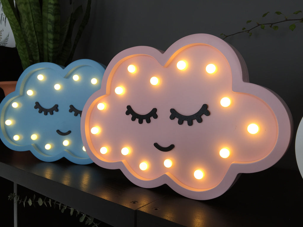 Wooden LED Cloud Light Interior Piku at Kids Emporium by Lazy Francis - Shop in store at 406 Kings Road, Chelsea, London or shop online at www.kidsemporiumonline.com