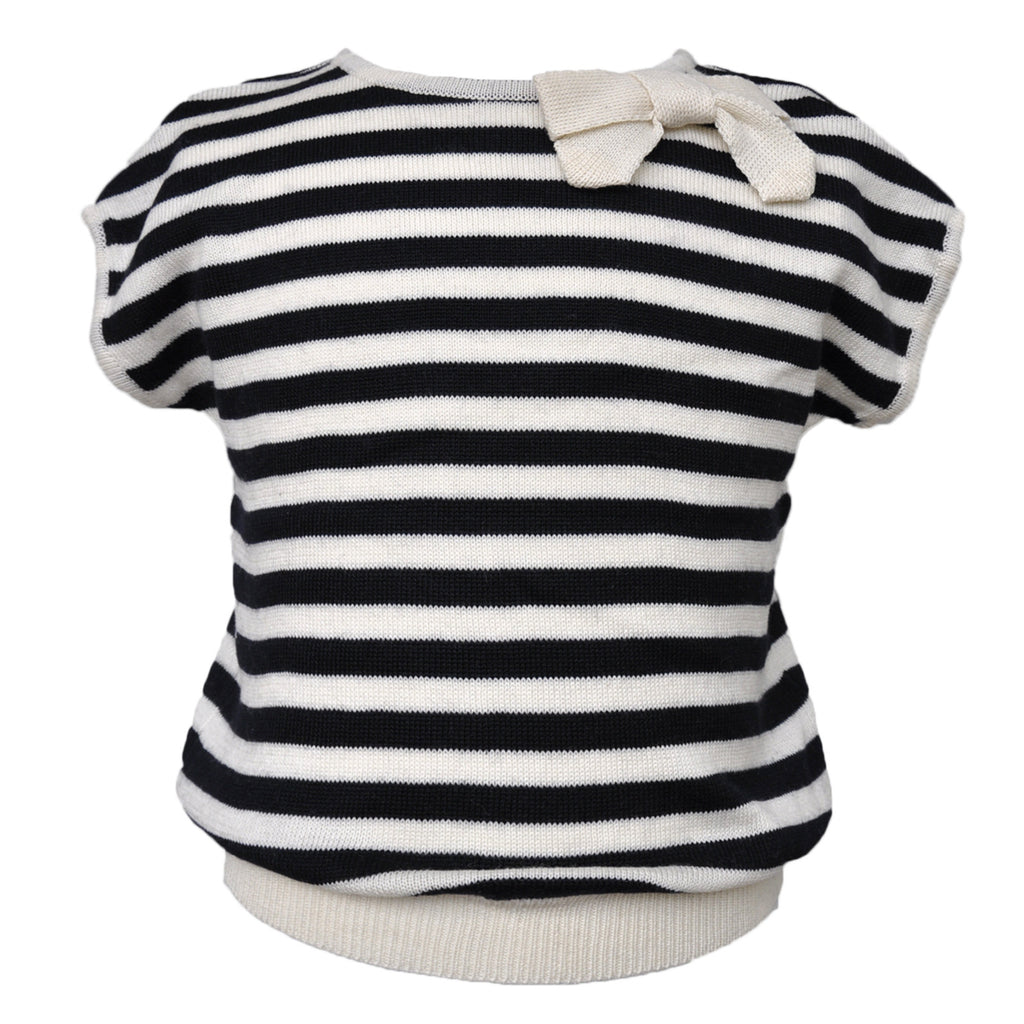 Kira summer girls top made of the finest Pima Cotton Cashmere blend yarn