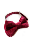 Bordo Velvet Bow Tie Bow Ties Lazy Francis at Kids Emporium by Lazy Francis - Shop in store at 406 Kings Road, Chelsea, London or shop online at www.kidsemporiumonline.com
