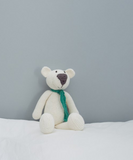 Cream Atty The Bear Toys Bebemoss at Kids Emporium by Lazy Francis - Shop in store at 406 Kings Road, Chelsea, London or shop online at www.kidsemporiumonline.com