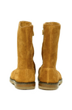 Camel Trip Botte Velours Girls High Boots Boots Pom D'Api