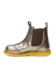 Bronze Girls Chelsea Ankle Boots Boots Angulus at Kids Emporium by Lazy Francis - Shop in store at 406 Kings Road, Chelsea, London or shop online at www.kidsemporiumonline.com