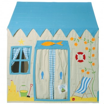 Beach House Playhouse - Win Green Toys Win Green at Kids Emporium by Lazy Francis - Shop in store at 406 Kings Road, Chelsea, London or shop online at www.kidsemporiumonline.com