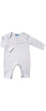 White & Silver Star Angel Baby Romper - Albetta Baby Wear Albetta at Kids Emporium by Lazy Francis - Shop in store at 406 Kings Road, Chelsea, London or shop online at www.kidsemporiumonline.com