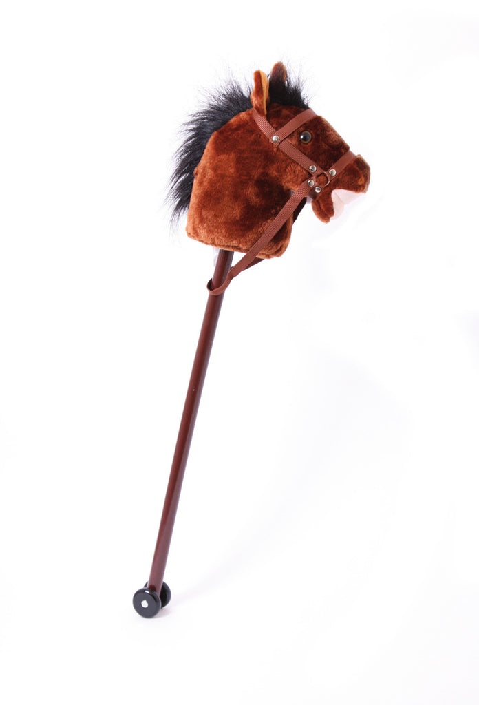 Hobby Horse Thunder Toy Legler,Small Foot Company at Kids Emporium by Lazy Francis - Shop in store at 406 Kings Road, Chelsea, London or shop online at www.kidsemporiumonline.com