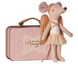 Guardian Angel in Suitcase Mouse Toys Maileg at Kids Emporium by Lazy Francis - Shop in store at 406 Kings Road, Chelsea, London or shop online at www.kidsemporiumonline.com