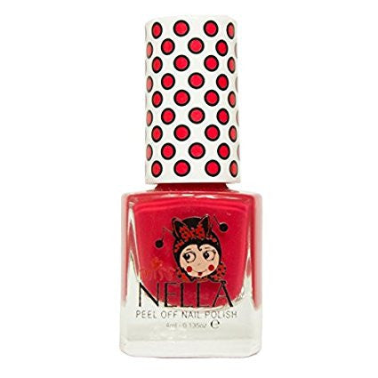 Nail Polish Cherry Macaroon ACCESSORIES Miss Nella at Kids Emporium by Lazy Francis - Shop in store at 406 Kings Road, Chelsea, London or shop online at www.kidsemporiumonline.com