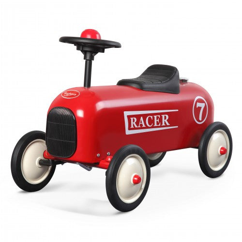 Racer Red Car Baghera at Kids Emporium by Lazy Francis - Shop in store at 406 Kings Road, Chelsea, London or shop online at www.kidsemporiumonline.com