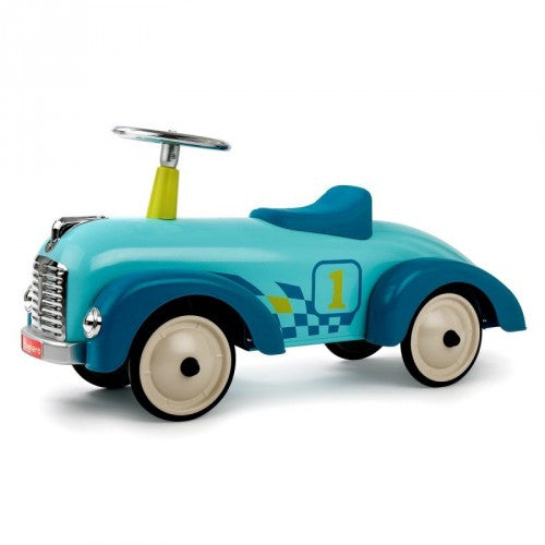 Speedster Pacific Blue Car Baghera at Kids Emporium by Lazy Francis - Shop in store at 406 Kings Road, Chelsea, London or shop online at www.kidsemporiumonline.com