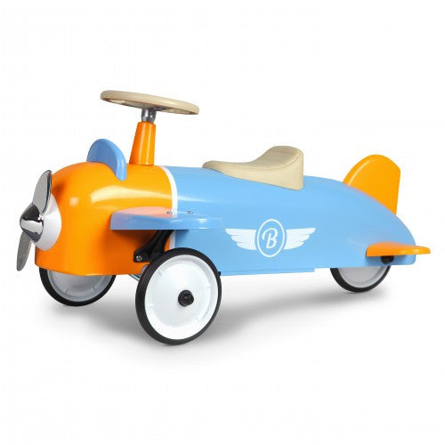 Speedster Sky Blue Plane Car Baghera at Kids Emporium by Lazy Francis - Shop in store at 406 Kings Road, Chelsea, London or shop online at www.kidsemporiumonline.com