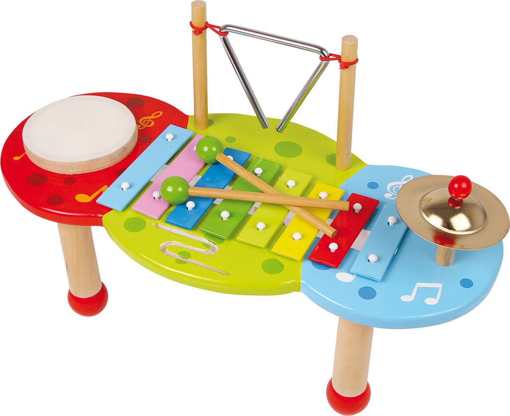 Xylophone Deluxe Toy Legler,Small Foot at Kids Emporium by Lazy Francis - Shop in store at 406 Kings Road, Chelsea, London or shop online at www.kidsemporiumonline.com