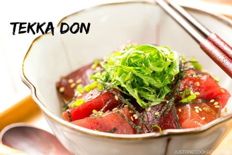 [Recipes] Tekka (Tuna) Don