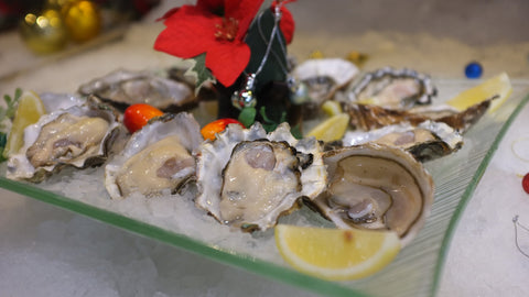 Oysters - French St Vaast // 牡蠣
