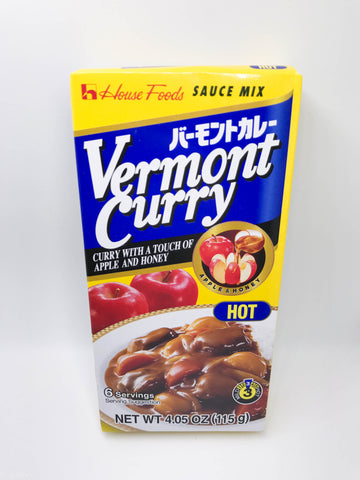 House Foods Vermont Curry - Hot // バーモントカレー