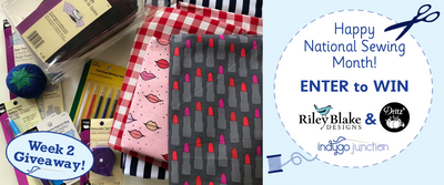 WIN Riley Blake Designs Fabric & Dritz® - Giveaway!