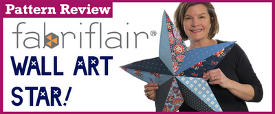 Pattern Review: Wall Art Stars