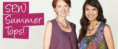 Sew For Summer! Tops to Keep You Cool!