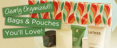 Clear Pouches and Vinyl Sewing Tips!