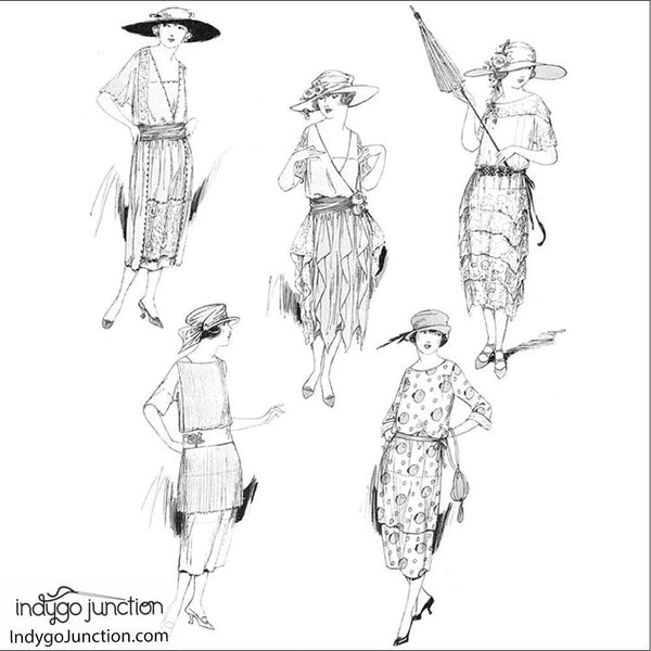 Fashion Therapy Coloring Book Image
